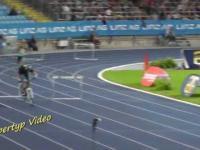 Sprinter kontra rowerzysta na 400m przez płotki!