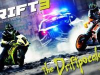 Motorcycle vs. Car Drift Battle 3