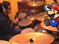 Super Mario w wersji perkusyjnej