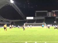 Zlatan Ibrahimovic znowu bawi się w latającego kocura !