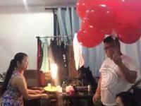 Azjatyckie urodziny z mocnym finałem