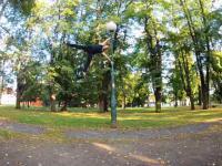 Niesamowity Polski akrobata