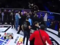 Walka MMA w Rosji nie skończyła się po nokaucie przeciwnika