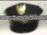 Nagranie rozmowy zastępcy komendanta SM we Włocławku z podwładnymi