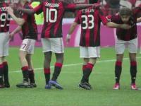 Milan - Bari parodia piłkarzy