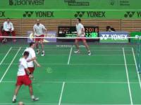 Niesamowicie długa wymiana w badmintonie