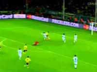 Kapitalny gol Borussii Dortmund w meczu z Malagą