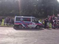 MOTO SHOW Bielawa 2014 - Wypadek!!!