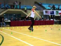 Klaudia Harmanis brązową medalistą w freestyle skating na rolkach