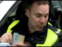 Pijany kierowca złapany przez policję