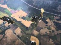 Koty które skoczyły ze spadochronem