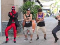 Deadpool tańczy Ganganm Style