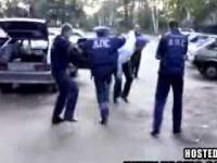 Rosyjska Policja urządza impreze