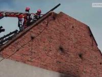 Strażacy vs. falująca ściana