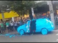 Oto co się stanie jak zaparkujesz na miejscu dla niepełnosprawnych w Brazylii