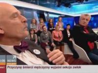 Piotr Ikonowicz i jego  etykieta kultury.