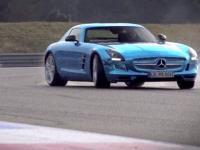 Elektryczny Mercedes SLS