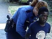 Policjantka aresztowała 7 latka