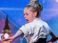 9-latka prezentuje umiejętności władania mieczem w brytyjskim Mm Talent!