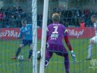 Błękitni Stargard - Lech Poznań 3:1 - Skrót sensacyjnego meczu (01.04.2015)