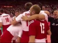 Polscy siatkarze mistrzami Świata! - ostatnie piłki meczowe