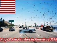 Road Rage & Car Crashes in America (USA) 2015