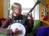 Dziewczynka i banjo
