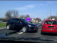 Wypadek - Audi Vs Opel