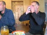 Obiad rosyjskich alkoholików