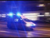 Alarmowo-Gdańsk.Gwałtowny przejazd ambulansu przez skrzyżowanie.