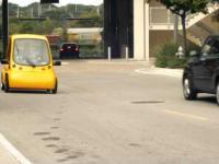 Kenguru - mały samochód elektryczny dla osób na wózkach
