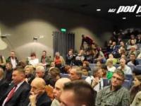 Skandal na debacie prezydenckiej w Lublinie