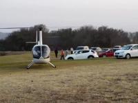Pilot helikoptera o mało nie doprowadził do tragedii