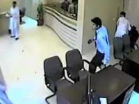 Napad na bank i odważny ochroniarz