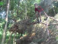 Tarzan prosto z Polski.