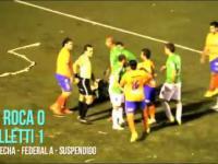 Wielka zadyma na debowym meczu 3 ligi argentynskiej. 12 graczy obejrzalo czerwona kartke