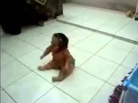 Ruchy dziecka Jak Węża