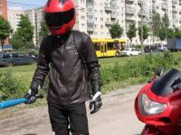 Polak w BMW w Rosyjskim STOPCHAM