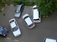 Zaparkowała!