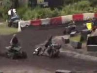 Kompilacja wypadków motocykli oraz quadów