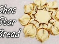 Chleb pleciony z nutellą