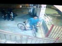 Przyłapany na kradzieży roweru