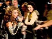 Fanka Beyonce prezentuje umiejętności wokalne