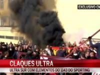 Ulice Lizbony. Ultrasi Realu Madryt zgotowali miedzynarodowy skandal