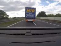Szeryf drogowy na drodze A4