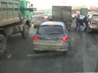 Rozbój na ulicy w Rosji