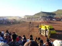 Monster Truck wpada na widzow