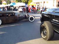 Hot Rod z silnikiem V8 co za brzmienie