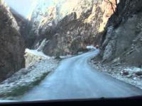 Ekstremalna droga do wsi Hinalug (Khinalug) (2350 m.n.p.m. ) w Azerbejdżanie