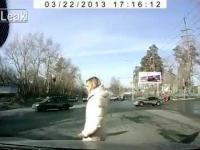 Tak jeżdzą na przejściach w Rosji